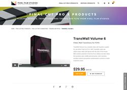 FCPX Plugin - TransWall Volume 6 - Pixel Film Studios