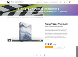 FCPX - TransFreeze Volume 2 - Pixel Film Studios Plugin