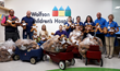 Crowley Employees Make 400 Teddy Bears for Wolfson Children's Kids