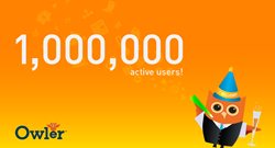 Owler Celebrates 1 Million Active Users