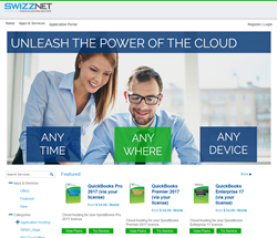 Swizznet's interactive Marketplace empowers users to try and buy hosting services instantly 24x7