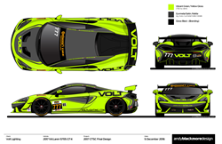 VOLT Racing's driver & sponsor, Alan Brynjolfsson (VOLT Lighting CEO) to drive new Mclaren GT4.