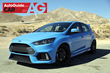 Ford Focus RS Wins AutoGuide.com 2017 Car of the Year Award