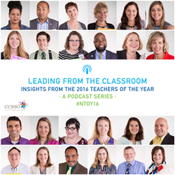 """Leading from the Classroom"" podcast series"