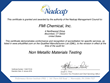 FMI Chemical Receives Nadcap Accreditation for Nonmetallic Materials Testing