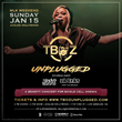 2017 T-Boz Unplugged Information & Promotional Card