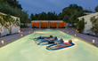 "The Future Is Mental Wellness: At Solage Resort & Spa (Calistoga, California) you can experience ""floating meditation"" in the thermal pools.  Source: Solage Resort & Spa by Briana Marie"