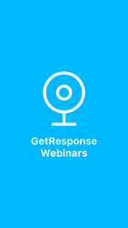 Leader in SMB online marketing launches the GetResponse Webinars app, available on the App Store & Google Play