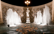 Baroque fountains offer a calming sense of departure from the outside world