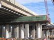 Bridge under bridge construction