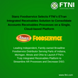 Stanz Foodservice Selects FTNI's ETran Integrated Receivables Solution to Consolidate Accounts Receivables Processes on a Single, Cloud-based Platform