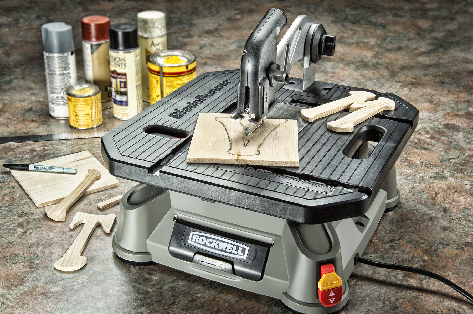 Santa s workshop abuzz with new rockwell power tools and for Who makes power craft tools