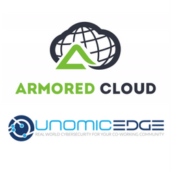 Armored Cloud and UnomicEdge Logos