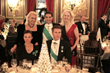 Seated: Azaea Beatrice Reyna di Savoia, HRH Prince Emmanuel Philibert of Savoy; Standing: Ms. Christina Rose, Savoy Foundation Chairman Carl J. Morelli, Esq., Ms. Vickey Downey