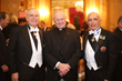 Dr. John Iacono, Rev. Msgr. Robert T. Ritchie and Ball Chair and Savoy Foundation Vice President Joseph Sciame