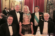 Standing: Vice-Chairs and Grand Patrons Dr. William J Caccese and Mrs. Andrea Caccese and Savoy Foundation Chairman Carl J. Morelli, Esq. with seated guests