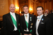 HRH Prince Dimitri of Yugoslavia, HRH Prince Emmanuel Philibert of Savoy and Mr. Anthony Schembri, Jr.