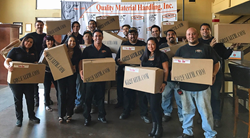 QMH Inc. Gives Back to the Community by Donating 400 Thanksgiving Dinners