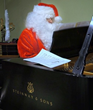 Hall Piano Presents Santa & a Steinway at Children's Hospital