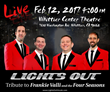 "Frankie Valli Tribute, ""Lights Out"", Set to Rock Whittier, CA"