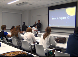 SEO and marketing company Boca Raton presenting at Lynn University