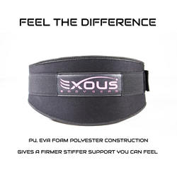 exous bodygear womens weight belt