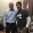 Dr. Steve Wilk and Jake Plummer