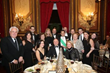 Table of Ball Co-Chairs and Gold Sponsors Mr. and Mrs. Vincent T. Pica II, seated center and right