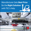 TEC Selection Services Helps Midsize US Manufacturer Find the Best-fit ERP Solution—At the Right Price