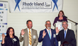 Elizabeth Dwyer, Superintendent of Banking and Insurance, Department of Business Regulation for the State of Rhode Island, swears in 2016-2017 Board of Directors: (from left to right) Michele Calabres