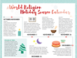 WorldReligionNews.com Holiday Infographic: 'What Do Religions Do During the Holiday Season?'