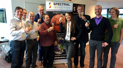 Spectral Industries and Flash Photonics team together in Delft, December 2016