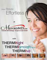 Dr. Marina Buckley explains how ThermiTight, ThermiSmooth and ThermiVa can help cosmetic patients who opt out of surgical procedures.
