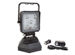 Rechargeable LED Floodlight equipped with a car and wall charger