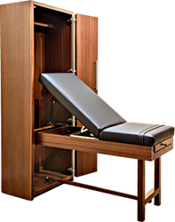 Wilding Wallbeds Clinical Pro Exam Table