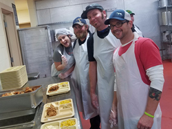 Stratton Exteriors Helps Feed the Homeless