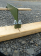 The base of the Target Hound Max can easily be expanded with wood stringers for added stability