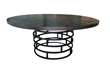 Gables 72 inch Round Table | ModelDeco.com