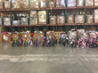 Bicycles at Connor Sport Court for Marines' Toys for Tots distribution