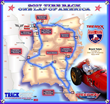 Tire Rack One Lap of America Official 2017 Route