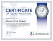 RitzPix Certified by Idealliance for G7® Master Qualification