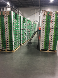 first shipment of fresh produce imported through the Port and stored in a chilled facility in Savannah.