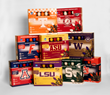Let's Light it Up™ Offers Official Christmas Lights for the Top 25 College Teams