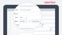 Newton launches new candidate search capabilities