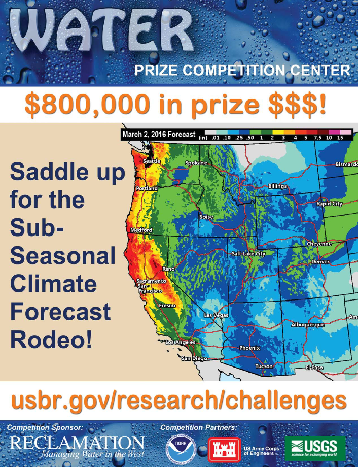 Bureau of reclamation launches prize challenge to seek for Bureau weather