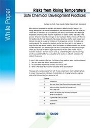 Risks From Rising Temperature: Safe Chemical Development Practices [White Paper]