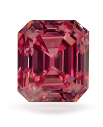 The 0.55 Carat VVS1 Fancy Deep Pink has become a part of the Guildhall Wealth Management - Diamond Argyle Collection.