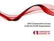 2016 Compensation Survey of Not-For-Profit Organizations
