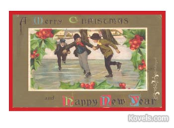 kovels, antiques, collectibles, christmas, place cards