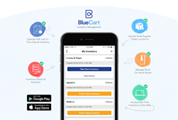 BlueCart, Inc. first to release new Inventory Management product on mobile